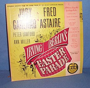 33 1/3 Original Soundtrack of Irving Berlin's Easter Parade with Judy Garland and Fred Astaire