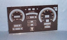 Kaiser Willys glass instrument panel cover