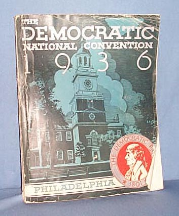 1936 Democratic National Convention official book