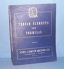 Jones and Lamson Machine Co. Thread Elements and Formulas