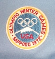 1972 Sapporo Olympic Games patch  - United States