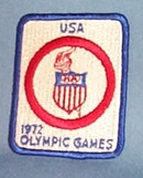 1972  Olympic Games patch  - United States
