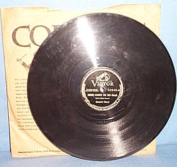 78 RPM Hands Across the Sea by Sousa's Band