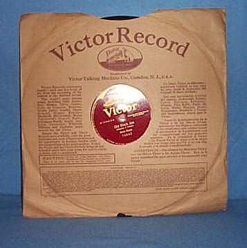 78 RPM Old Black Joe by Alma Gluck