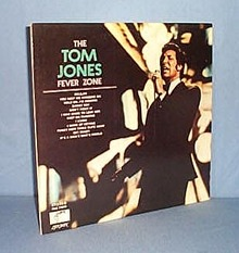 33 RPM LP The Tom Jones Fever Zone
