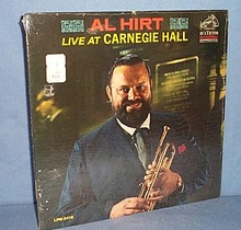 33 RPM LP Al Hirt Live at Carnegie Hall