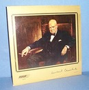 33 RPM LP The Voice of Winston Churchill