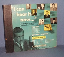 5 record set: Edward R. Murrow I Can Hear It Now, 1933-1945