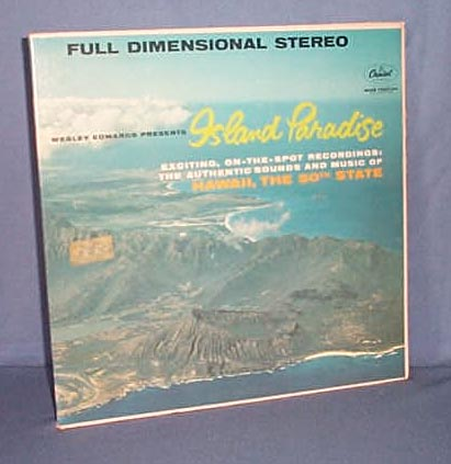 33 LP Leroy Holmes and the Southwinds 50 Fabulous Hawaiian Favorites
