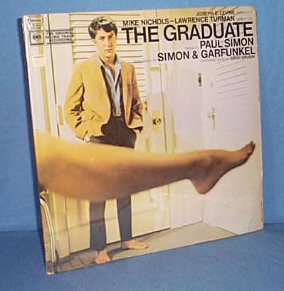 33 LP The Graduate soundtrack by Simon and Garfunkel