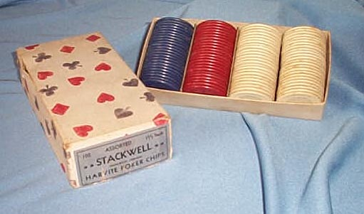 Stackwell 1.5 inch Harvite Poker Chips