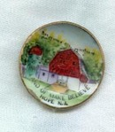 Land of Make Believe, Hope NJ souvenir plate