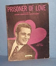 Prisoner of Love sheet music by Perry Como