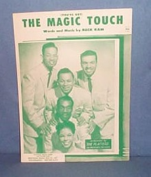 You've Got The Magic Touch sheet music by The Platters