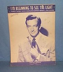 I'm Beginning To See The Light sheet music by Harry James