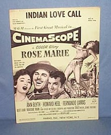 Indian Love Call sheet music