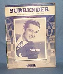 Surrender sheet music