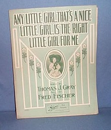 Any Little Girl, That's A Nice Little Girl, Is the Right Little Girl For Me sheet music