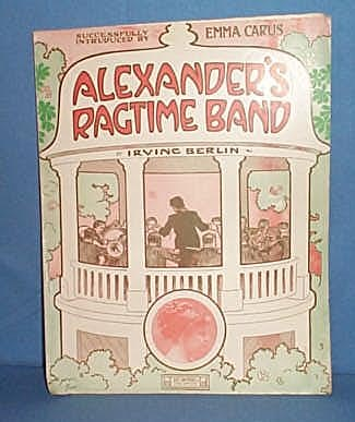 Alexander's Ragtime Band by Irving Berlin sheet music