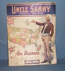 Uncle Sammy sheet music for piano.