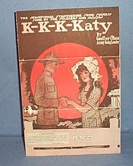 K-K-K-Katy sheet music