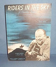 Riders in the Sky (A Cowboy Legend) sheet music