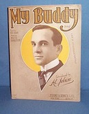 My Buddy sheet music by Al Jolson