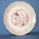 Texas Souvenir plate
