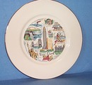 Royal Hostess New York Souvenir plate