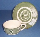 Colonial Homestead by Royal China cup and saucer