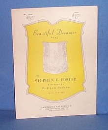 Stephen Foster's Beautiful Dreamer sheet music