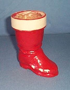 Cardboard Santa's Boot