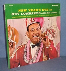 33 RPM LP New Year's Eve with Guy Lombardo and His Royal Canadians