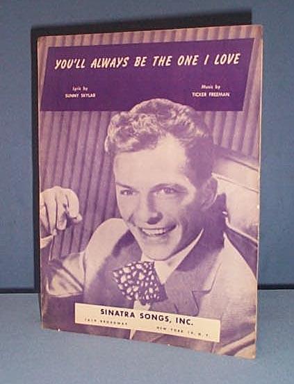 Frank Sinatra sheet music