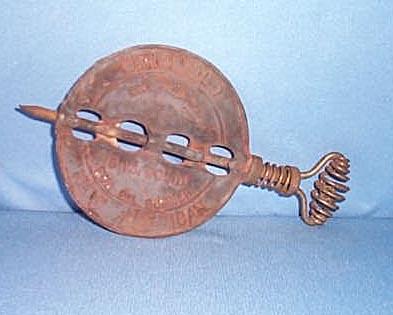 Griswold 5 inch solid oil burner spindle
