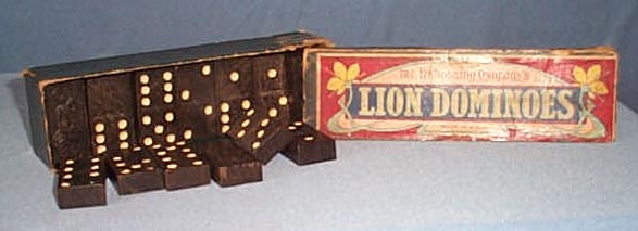 The Embossing Company's Lion Dominoes