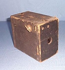 Early ANSCO Box camera
