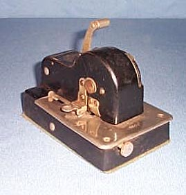 Protectograph Personal Checkwriter, Model 3500