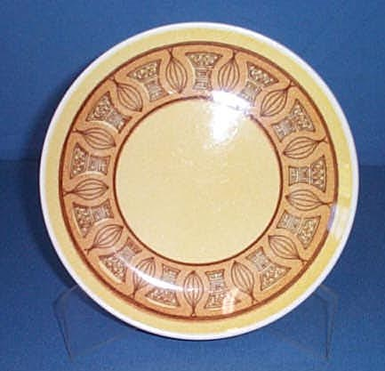 Taylor Ironstone Honey Gold 7.5 inch salad plate