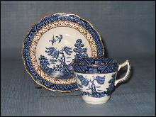 Booths Real Old Willow cup and saucer