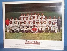 1948 Fightin' Phillies color team photo