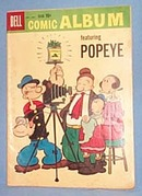 Dell Comic Album featuring Popeye, Sept.-Nov. 1959, No. 7  comic book
