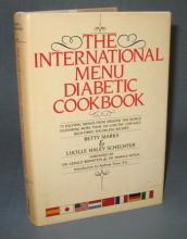The International Menu Diabetic Cookbook by Betty Marks and Lucille Haley Schechter