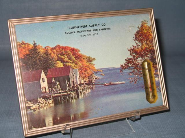 Runnemede Supply Company advertising thermometer