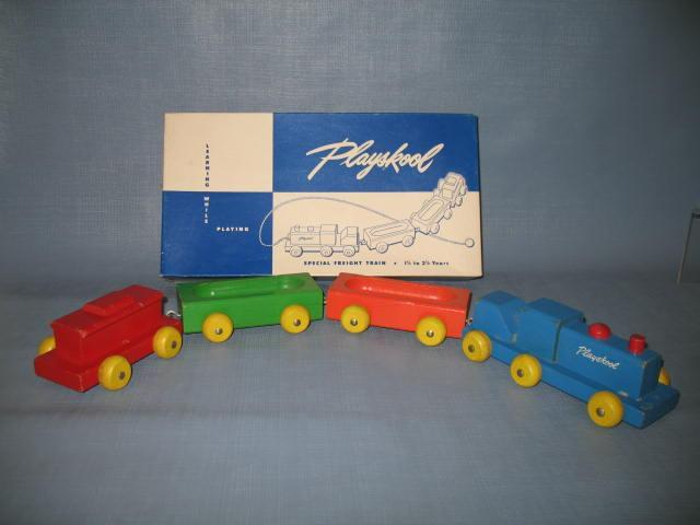 Playskool Special Freight Train in original box