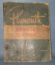 Plymouth Service Manual - Models P15, P17, P18, P19, P20, P22, P23, P24