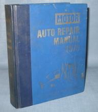 Motor Auto Repair Manual 1979