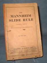 The Mannheim Slide Rule Complete Manual by William Cox