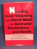 Nine-Day Inner Cleansing and Blood Wash for Renewed Youthfulness and Health by I. E. Gaumont