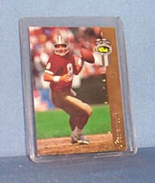 1993 Classic McDonald's Steve Young photo card